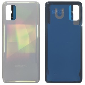 Samsung Galaxy A31 A315 - Battery Cover with Adhesive Prism Crush White