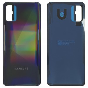 Samsung Galaxy A51 A515 - Battery Cover with Adhesive Prism Crush Black