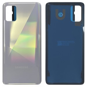 Samsung Galaxy A51 A515 - Battery Cover with Adhesive Prism Crush White