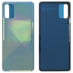 Samsung Galaxy A71 A715 - Battery Cover with Adhesive Prism Crush Blue