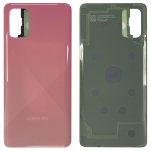 Samsung Galaxy A71 A715 - Battery Cover with Adhesive Prism Crush Pink