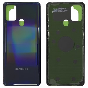 Samsung Galaxy A21S A217 - Battery Cover with Adhesive Black