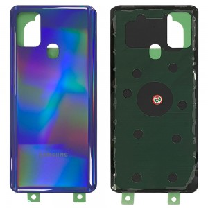 Samsung Galaxy A21S A217 - Battery Cover with Adhesive Blue