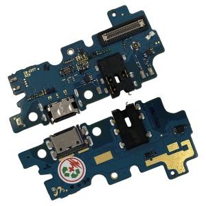 Samsung Galaxy A30s A307F - Dock Charging Connector + Earphone Jack Board