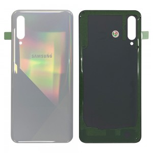 Samsung Galaxy A30s A307F - Battery Cover with Adhesive Prism Crush White