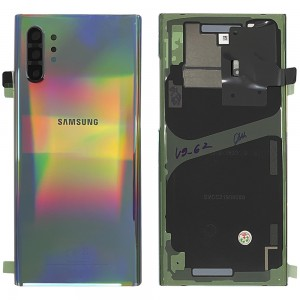 Samsung Galaxy Note 10 N970 - Battery Cover Original with Camera Lens and Adhesive Aura Glow < Service Pack >
