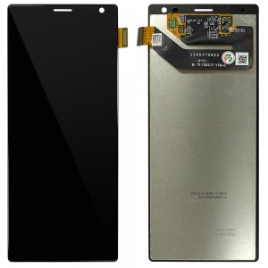 Sony Xperia 10 Plus - Full Front LCD Digitizer Black