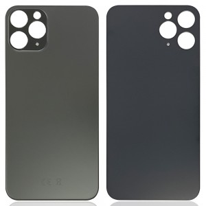 iPhone 11 Pro - Battery Cover with Big Camera Hole Black