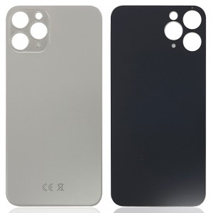 iPhone 11 Pro - Battery Cover with Big Camera Hole White
