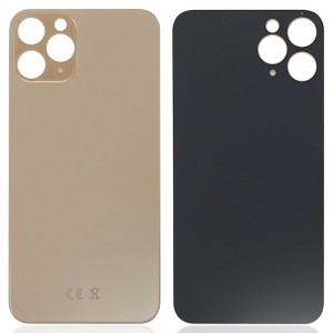 iPhone 11 Pro - Battery Cover with Big Camera Hole Gold