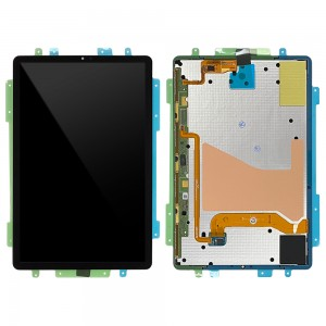 Samsung Galaxy Tab S6 (10.5) T860 / T865 - Full Front LCD Digitizer Black < Service Pack >