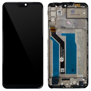 Asus Zenfone Max Pro (M2) ZB631KL / ZB630KL - Full Front LCD Digitizer with Frame Black
