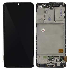"Samsung Galaxy A41 A415F - Full Front LCD Digitizer Black "" Service Pack """