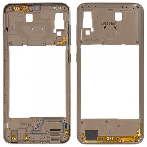 Samsung Galaxy A20 A205 - Middle Plate Frame Gold