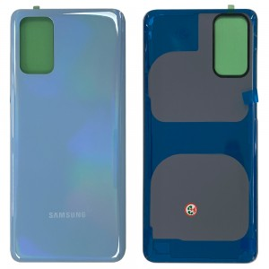 Samsung Galaxy S20+ G985 - Battery Cover with Adhesive Cloud Blue