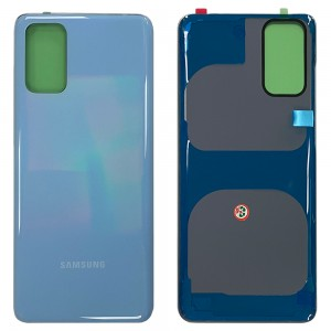 Samsung Galaxy S20+ G985 - Battery Cover with Adhesive Aura Blue