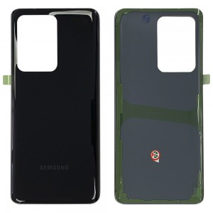 Samsung Galaxy S20 Ultra / S20 Ultra 5G - Battery Cover with Adhesive Cosmic Black