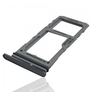 Samsung Galaxy S20 G980 / S20+ G985 / S20 Ultra G988 - Sim 1 & Sim 2 / Micro SD Carte Tray Cosmic Grey