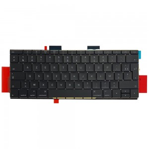 Macbook Pro 13 inch A1708 2016-2017 - French Keyboard FR Layout with Backlight