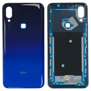 Xiaomi Redmi 7 - Battery Cover with Adhesive Blue