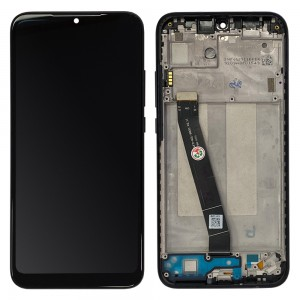Xiaomi Redmi 7 - Full Front LCD Digitizer with Frame Black