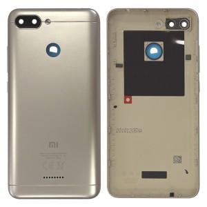 Xiaomi Redmi 6 - Back Housing Cover Dual Sim Gold