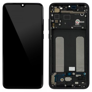 Xiaomi Mi 9 Lite - Full Front LCD/OLED Digitizer with Frame Onyx Grey