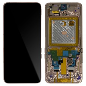 Samsung Galaxy A80 A805F - Full Front LCD Digitizer Angel Gold < Service Pack >