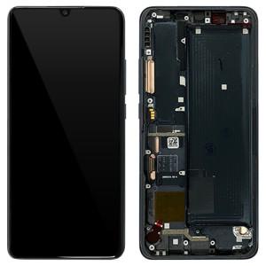 Xiaomi Mi Note 10 Lite - Full Front LCD Digitizer With Frame Midnight Black