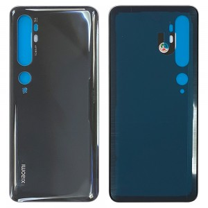 Xiaomi Mi Note 10 - Battery Cover With Adhesive Midnight Black