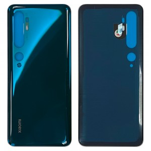 Xiaomi Mi Note 10 - Battery Cover With Adhesive Aurora Green