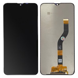 """Samsung Galaxy A10s A107 - Full Front LCD Digitizer Black With Frame """" Service Pack """""""