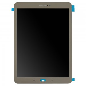 """Samsung Galaxy Tab S2 9.7 T810 T813 T815 2015 - Full Front LCD Digitizer Gold """"Service Pack"""""""
