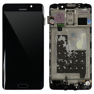 Huawei Mate 9 Pro - Full Front LCD Digitizer with Frame Black