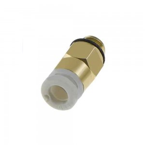 CREALITY - Universal Gold Direct Pneumatic Connectors KJH04-M6 1.75mm