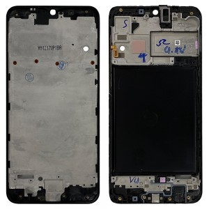 Samsung Galaxy A10 A105 - LCD Frame Black