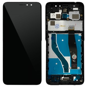 Alcatel 1x (2019) 5008Y - Full Front LCD Digitizer with Frame Black