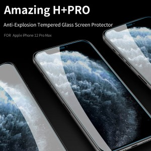 iPhone 12 Pro Max - NillKin Tempered Glass Screen Protector Amazing H+ Pro