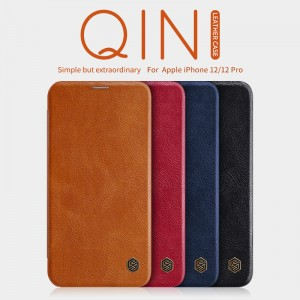 iPhone 12 / 12 Pro - NILLKIN Qin Leather Case