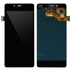 Wiko Pure 4G - Full Front LCD Digitizer Black