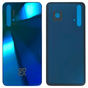 Huawei Nova 5T - Battery Cover with Adhesive Crush Blue