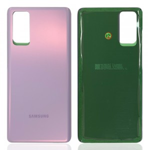 Samsung Galaxy S20 FE G780 / S20 FE 5G G781 - Battery Cover with Adhesive Cloud Lavender