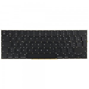 Macbook Pro 13 inch A1989 / 15 inch A1990 2018-2019 - French Keyboard FR Layout with Backlight