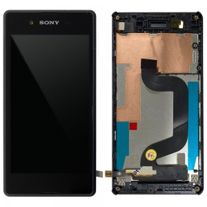Sony Xperia E3 D2203 D2206 D2243 D2202 - Full Front LCD Digitizer With Frame Black < Service Pack >