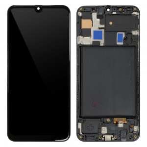 Samsung Galaxy A50 A505 - Full Front LCD Digitizer with Frame Black (OLED)