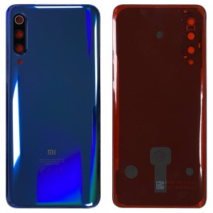 Xiaomi Mi 9 - Battery Cover Ocean Blue with Camera Lens & Adhesive