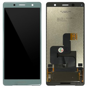Sony Xperia XZ2 Compact H8324 / H8314 - Full Front LCD Digitizer Moss Green