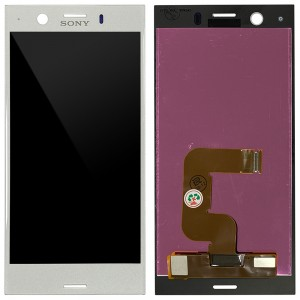 Sony Xperia XZ1 Compact G8441 - Full Front LCD Digitizer White Silver