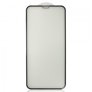 iPhone X / XS / 11 Pro - Full Arc Tempered Glass Black Matte