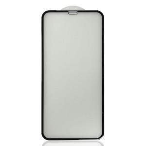 iPhone XR / 11 - Full Arc Tempered Glass Black Matte